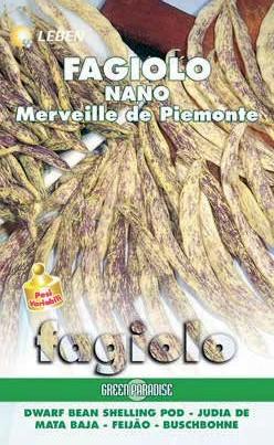 Buschbohnen Merveille de Piemonte