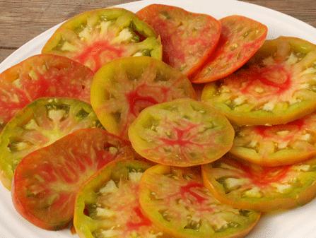 Tomaten Samen Mehrfarbig