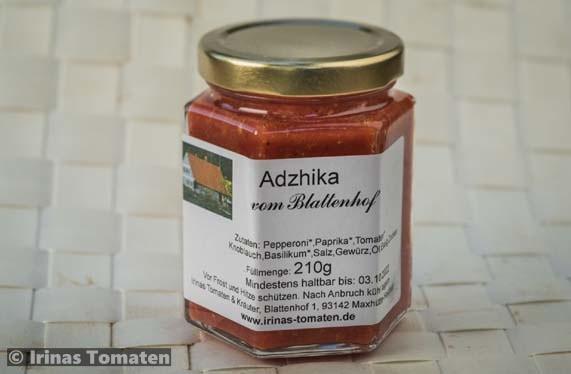 Adzhika leicht Scharf