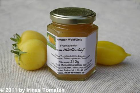 Tomaten Weiß - Gelb