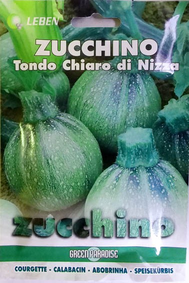 Zucchini Tondo Chiaro di Nizza
