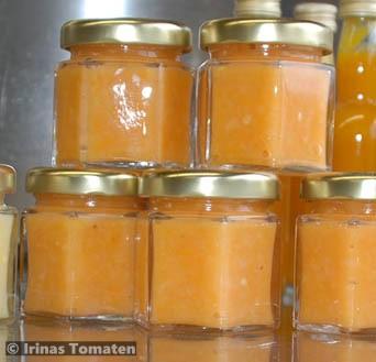 Zwergenglas Chili-Paste apricot
