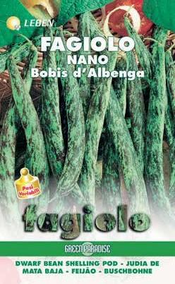 Buschbohnen Bobis d'Albenga