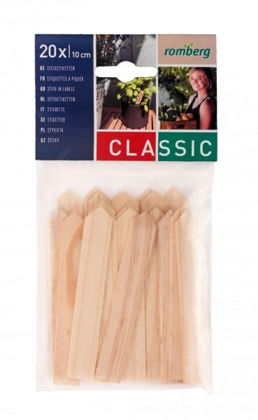 Holz-Stecketiketten